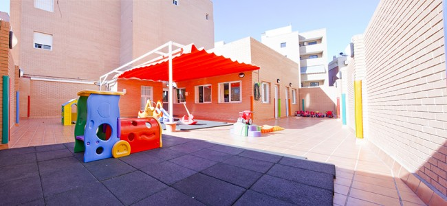 Patio Escuela Infantil Educamar